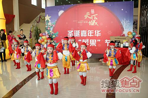 歌舞庆圣诞舞蹈曲谱