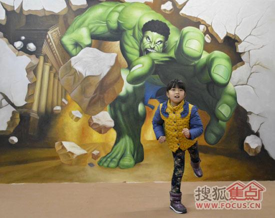 本次3d魔幻艺术展展览内容包括世界名画,立体魔幻,无疆界动物园,大