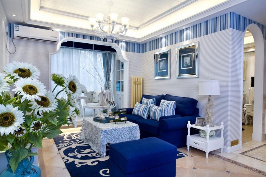 地中海风格家具 两室两厅实用性家居