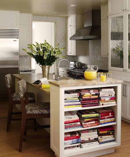 橱柜收纳干净利落 厨房空间巧妙利用【图】