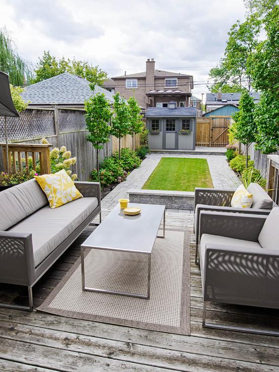 20个别墅后院设计 打造私家御花园