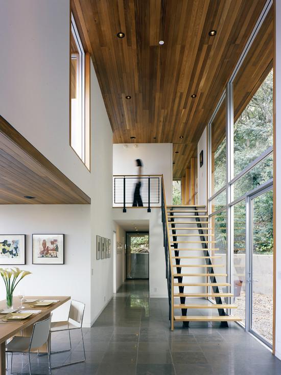 自然而温暖 50款线条感木吊顶设计