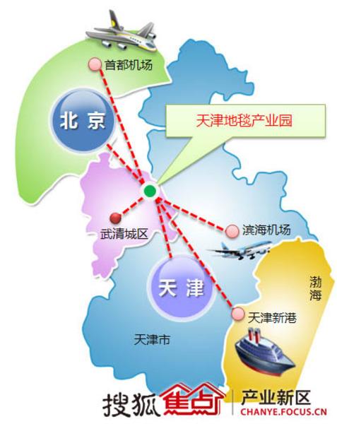 外溢京企锁定天津武清 高额返税引企业围驻
