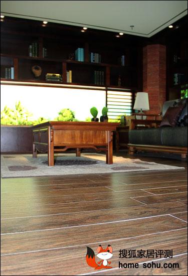 经典重现 蒙娜丽莎奥林匹斯瓷木地板评测