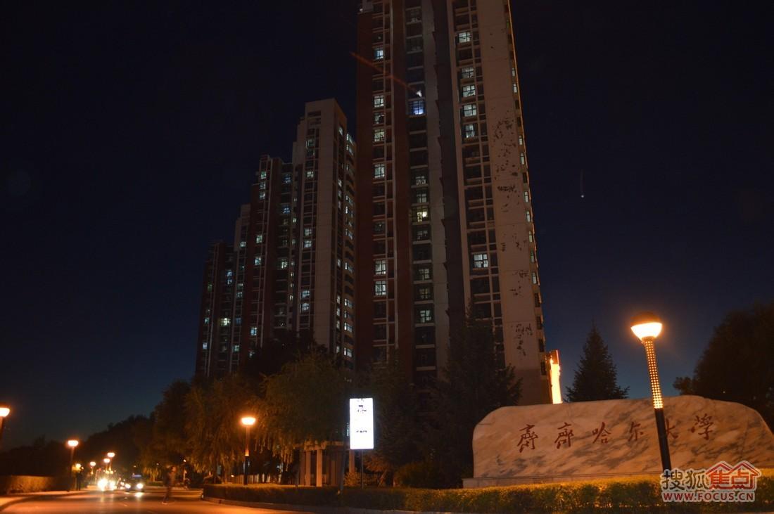 齐齐哈尔大学 (图/ 马斌)-万达领衔 点燃齐齐哈尔城北新区发展 导火索
