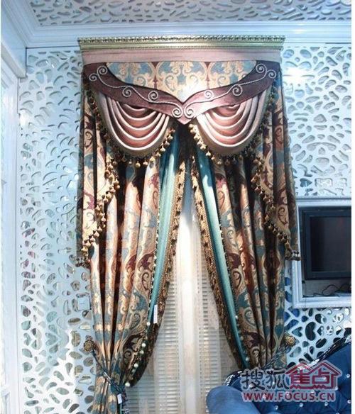 15款欧式客厅窗帘效果图 打造完美软装设计