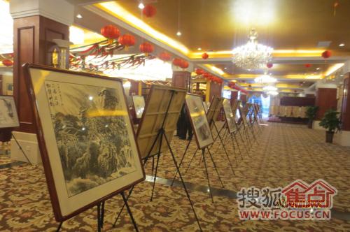 恒大黄河生态城 书画名家宋苍然书画展开启图片
