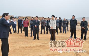 委书记李静调研岷东新区建设速度图片