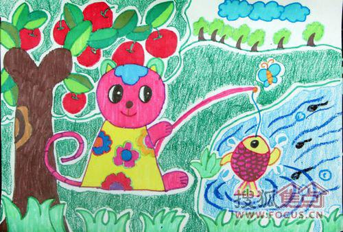 三月女人节简笔画- 少儿绘画大赛3月30日快乐启航