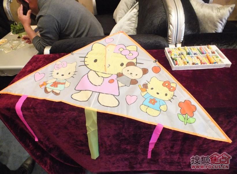 幼儿自制风筝图案设计