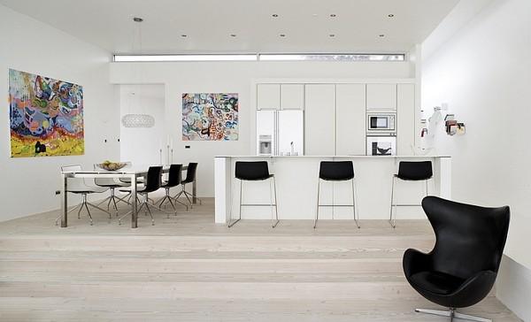 不落俗套的色彩 27款北欧风格木地板设计(图)