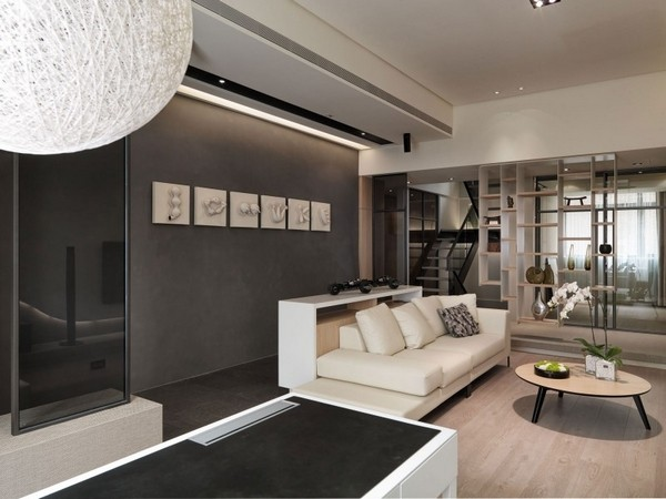 臺灣簡約風格 多層次的現代公寓設計(組圖)圖片