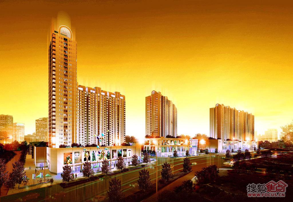 21世纪国际公寓外观图-江宁地铁高层中小户型14000元 ㎡