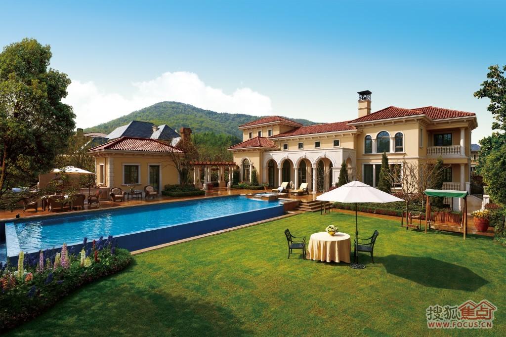 [绿城玫瑰园]将推出楼王别墅总价2亿元结构单层轻钢别墅图片
