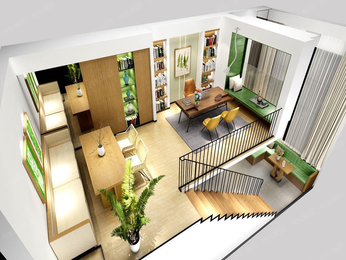 loft风格办公室装修设计效果图_装装修