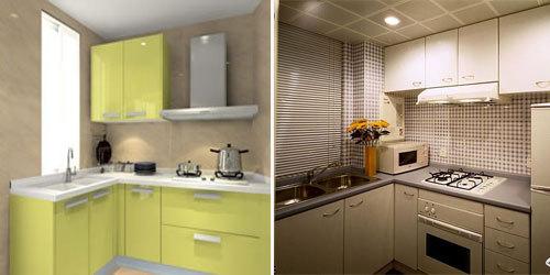 【厨房装修】家不在大有厨则名 6平米以下l型厨房生活