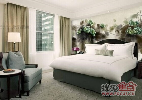 style6:卧室床头手绘背景墙