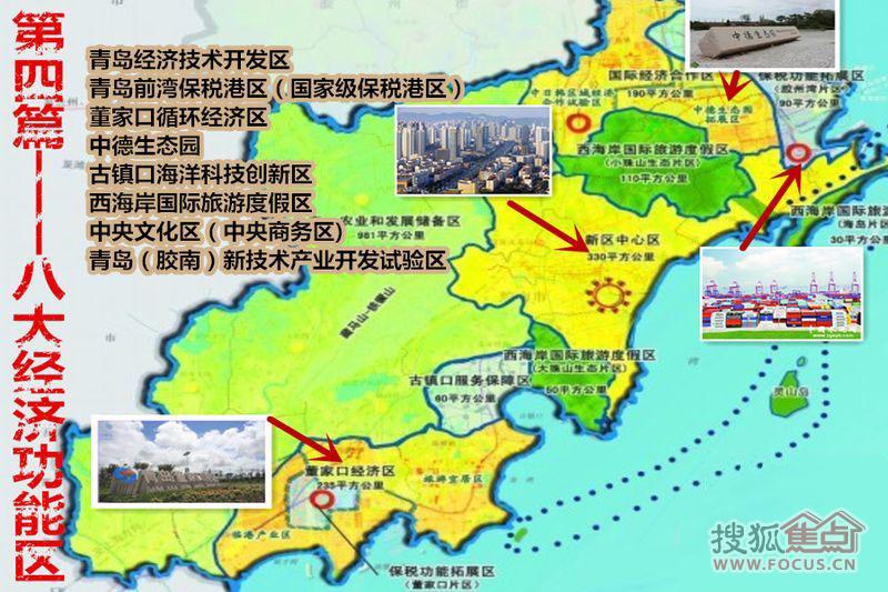 青岛西海岸区域划分