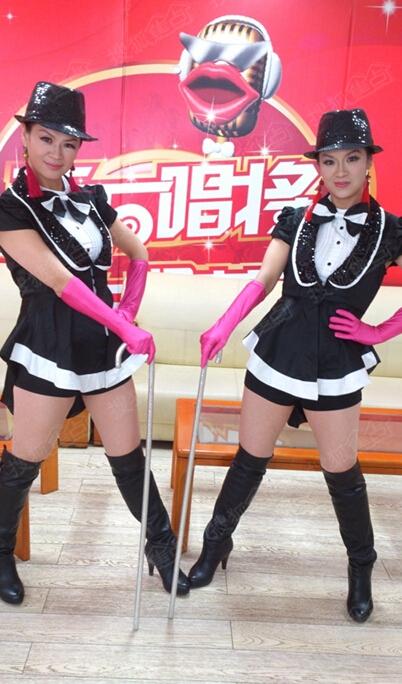 青岛聋哑姐妹花 舞出精彩人生图片