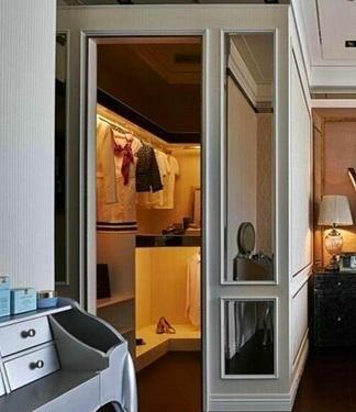 小户型也能有衣帽间 斜行设计保持房间宽松图片