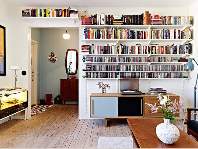 浓浓的书香气息才是文艺青年们最爱的家图片