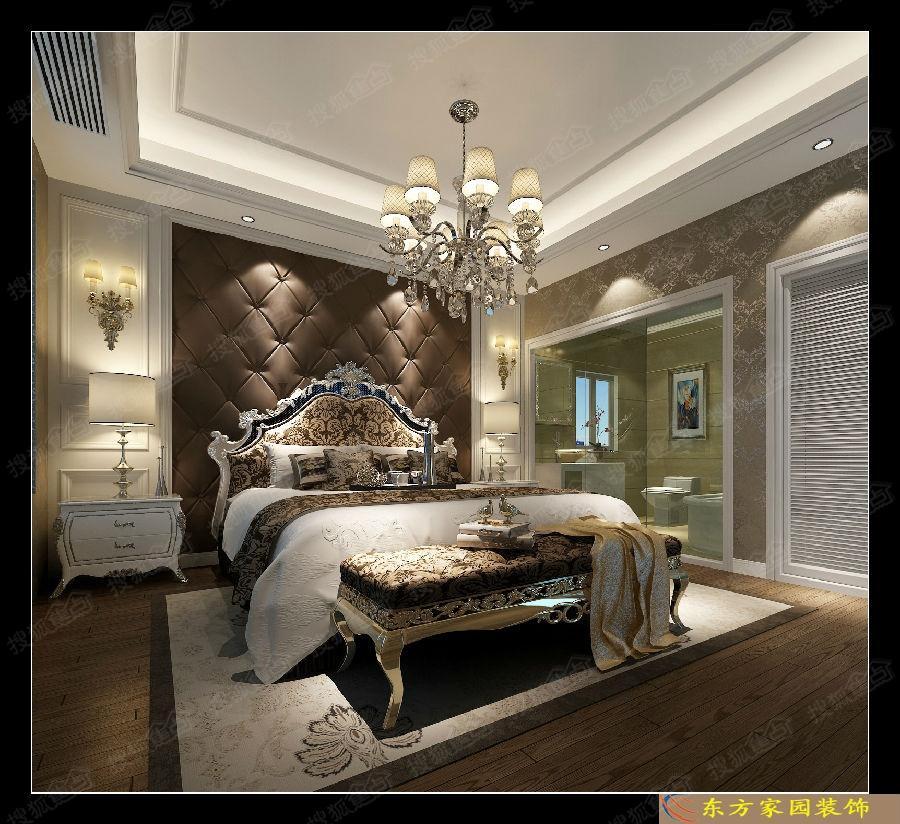 市南期房【金茂湾】130平新古典风格现代与古典装修效果图