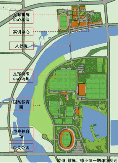 将打造江北一流足球小镇 规划图出炉
