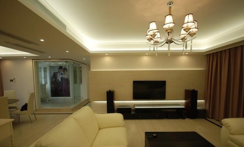 客厅电视墙怎么弄才不会影响到财位