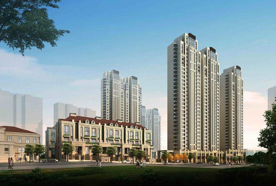 青岛业主论坛 地产风月榜论坛 > 宜昌路16号将建高端住宅小区 效果图