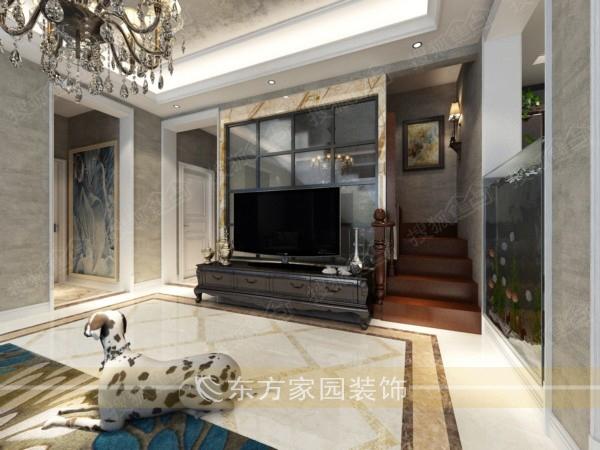 青岛东方家园装饰 室内装饰 装修案例