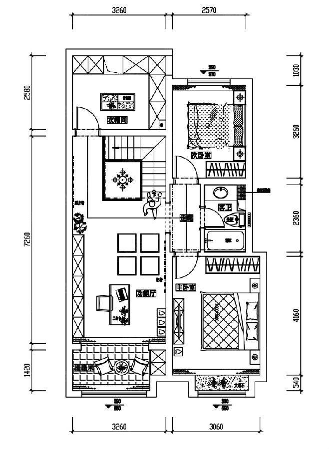 简奢风格别墅装修|中铁华胥美邦180平装修效果图|设计