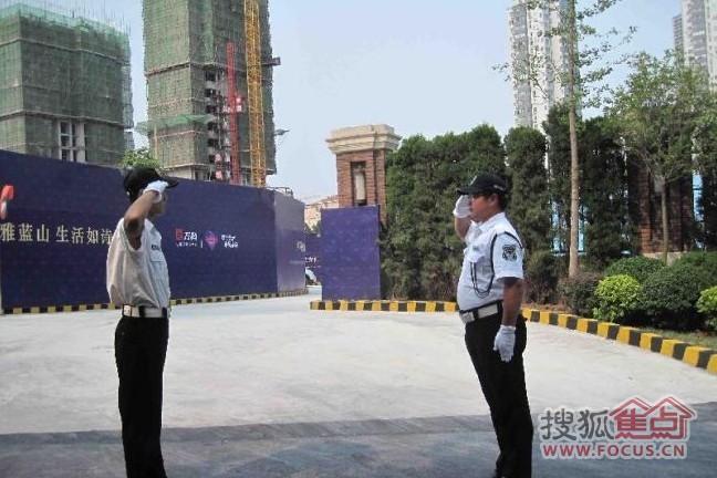 图:停车场的管理员不错-万科蓝山-青岛搜狐焦点业主