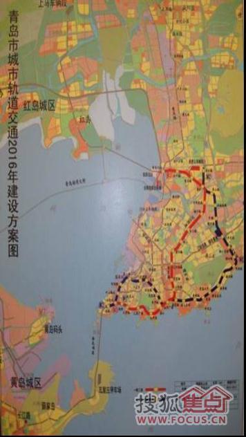 其间设置火车站,太平角,五四广场,南京路和青岛北站等22个车站,串联起