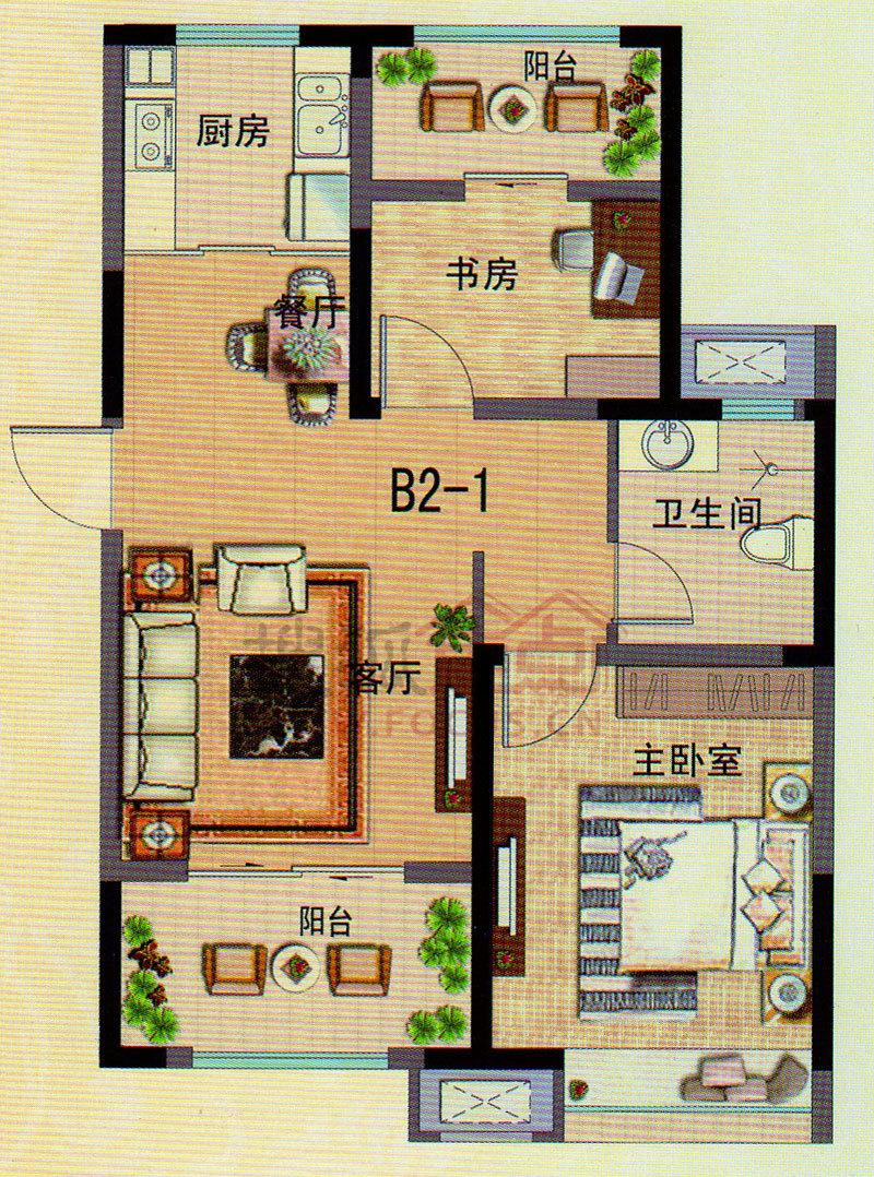 中南世纪城图片-中南世纪城户型图-青岛搜狐焦点网