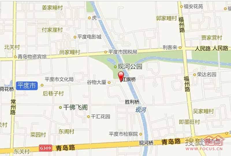 开元城地图