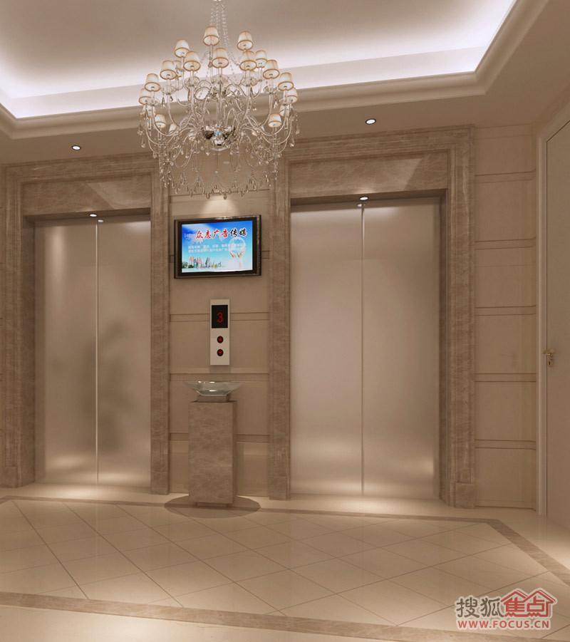 项目电梯厅效果图-青岛搜狐焦点网