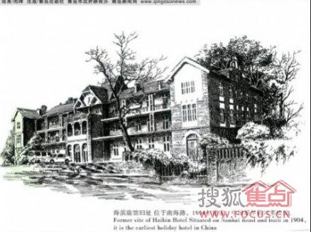 钢笔画记录青岛老建筑,另一种美!