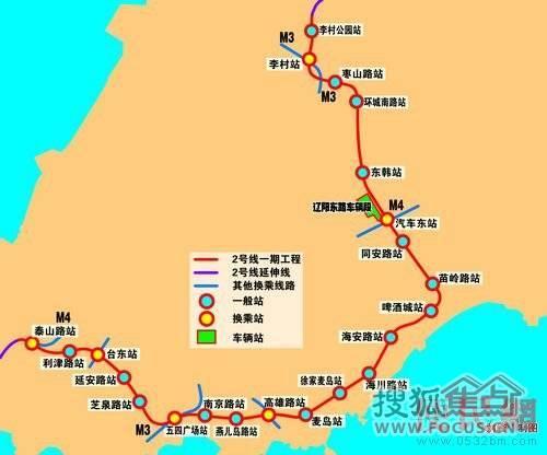 青岛地铁二号线图片