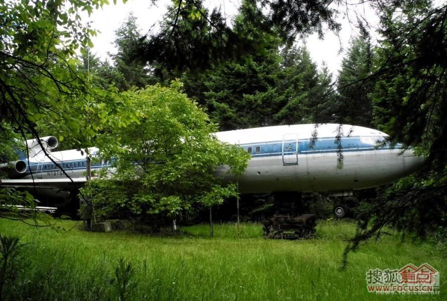 废旧飞机也能高大上 变身酒店豪宅-奥润熙湖华府