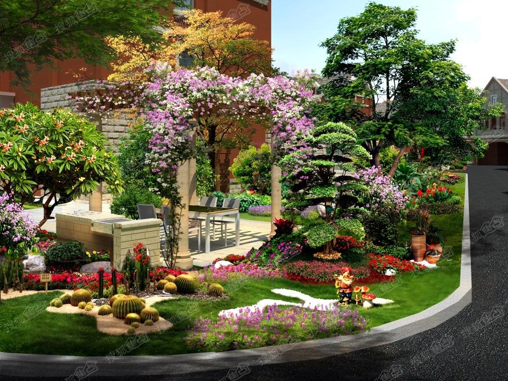 碧桂园首府园林景观效果图图片