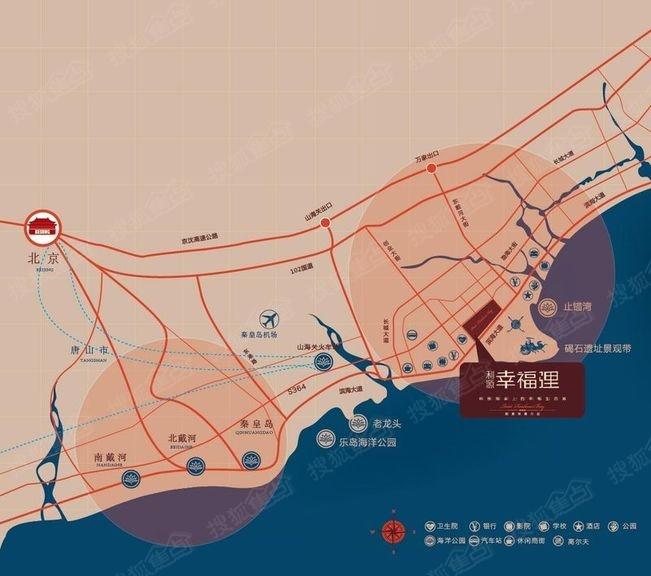 河广大道线路图-利源幸福里 路线图 自驾指南图片