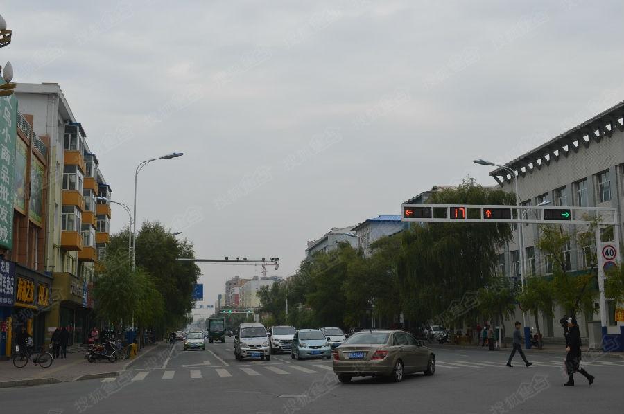 讷河到齐齐哈尔_齐齐哈尔市讷河市城市风光