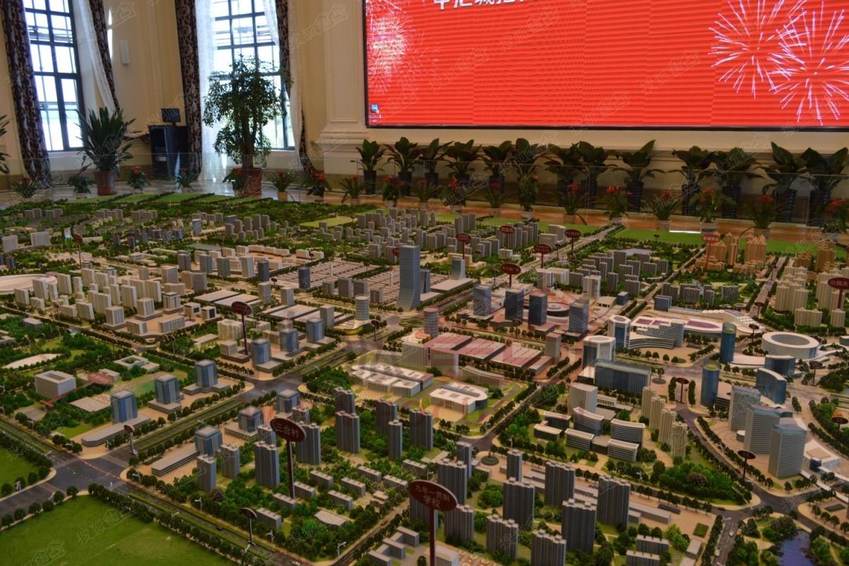 齐齐哈尔新城中汇城整体沙盘效果图 齐齐哈尔搜狐焦点网