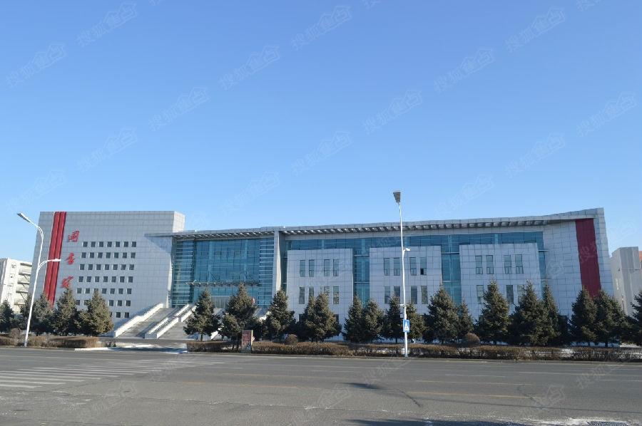 齐齐哈尔新图书馆,据说齐齐哈尔城市规划馆也会在这里