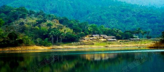 在这里寻访湖心岛原始黎寨,探秘水底村庄,捕鱼,野餐,露营,品尝山兰