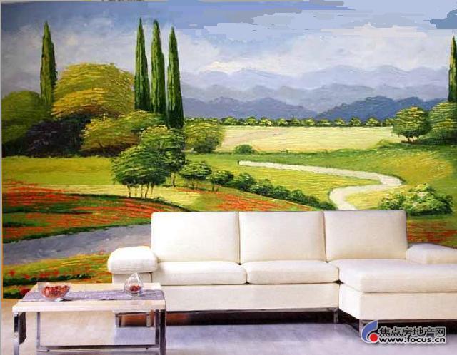 图: 图片:绝对漂亮的手会墙画图片,选择一款把房间装饰一下吧图片