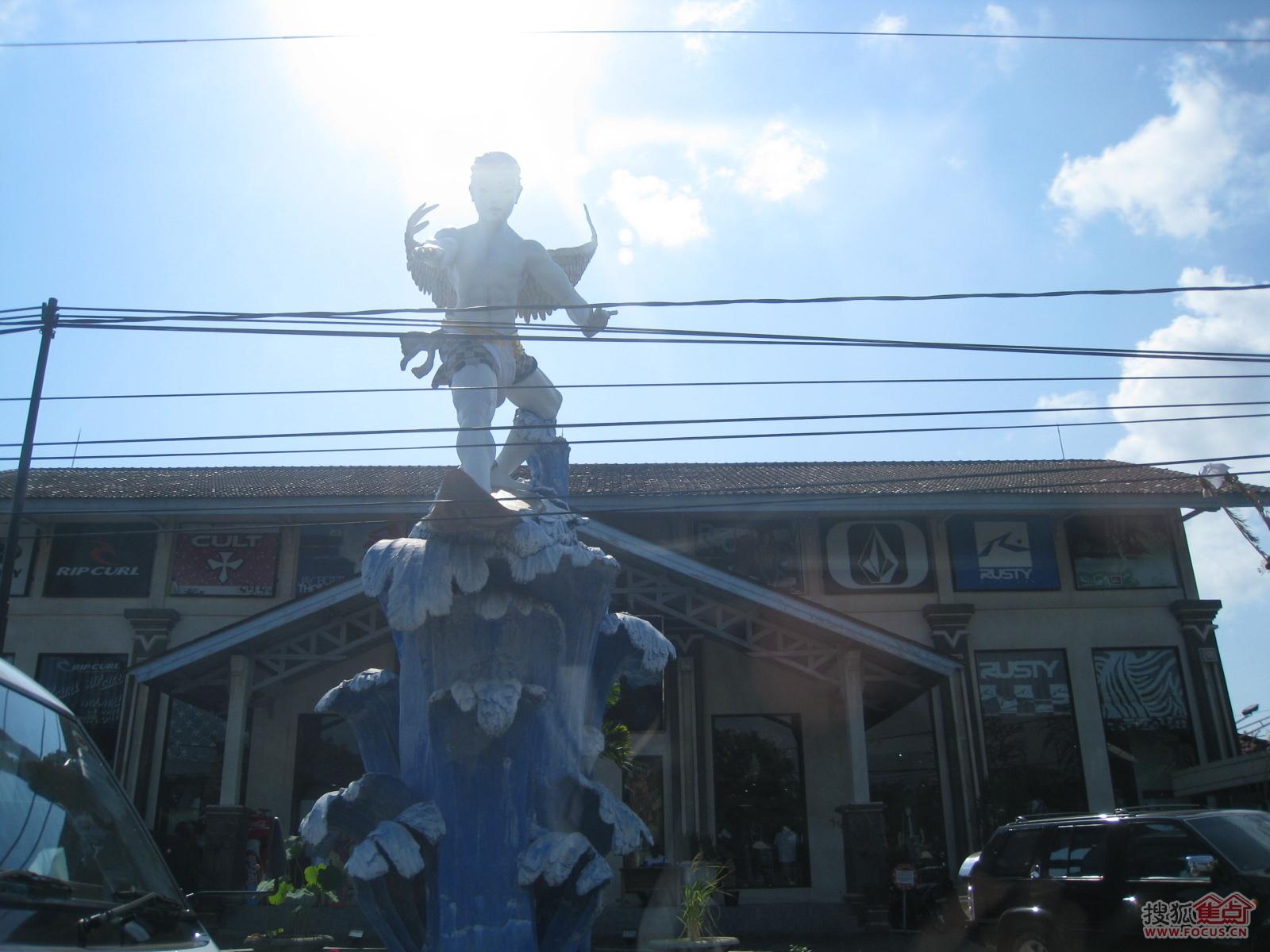 > 图: 巴厘岛归来----美术馆,机场,交通,农业,石雕,住宿,工艺