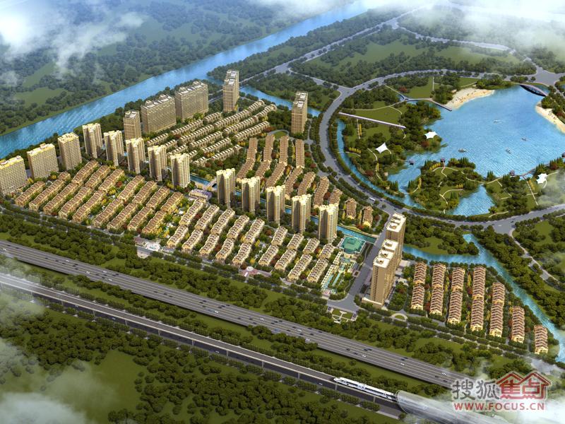 湖畔天下别墅外观图-南翔190平连城大宅即将开盘