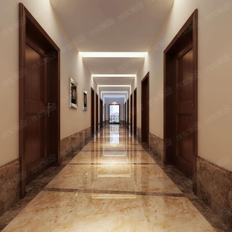 过道效果图-文华国际大厦图片高清图片