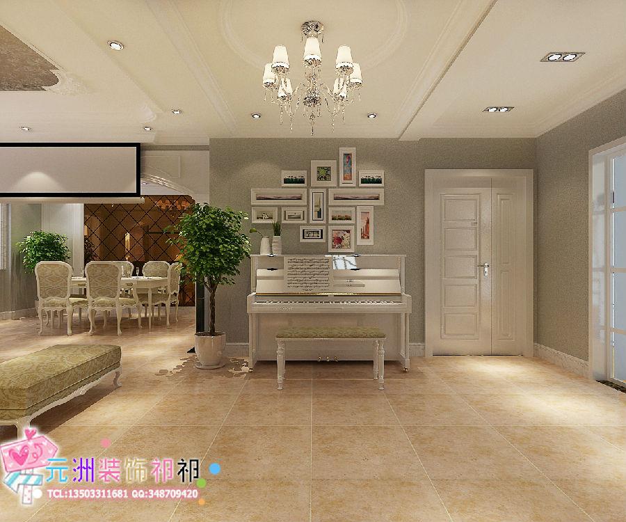装修效果图:   下图为国仕山三室两厅139平米户型装修平面图高清图片